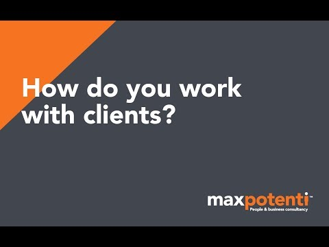 How do you work with clients?