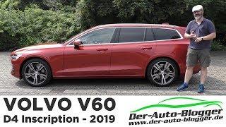 2018 Volvo V60 D4 Inscription - Schöner Schwede -  Test, Review und Fahrbericht / Testdrive