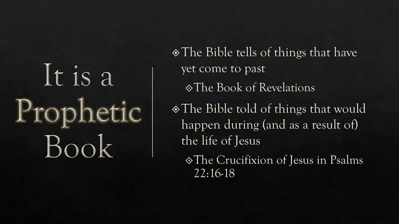 Download Bible Class - Victorious Living Series - What is the Bible?