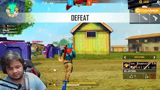 White444 Vs😡Hacker   😤 घमंडी लड़के आजा 1 vs 4 में !! 😂   Garena Freefire screenshot 5
