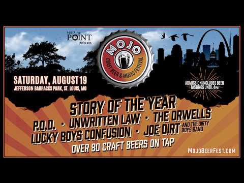 The Rizzuto Show Announces the 1st ever MOJO Craft Beer & Music Festival in St. Louis