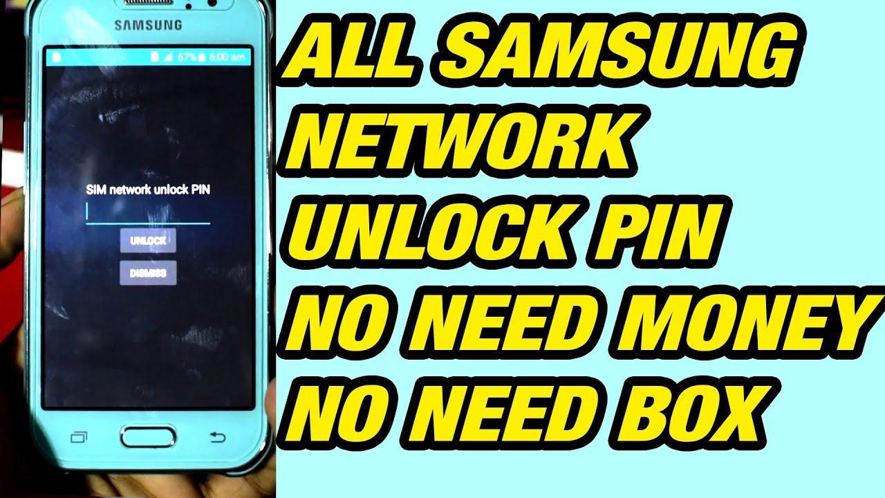 samsung galaxy j7 unlock code generator