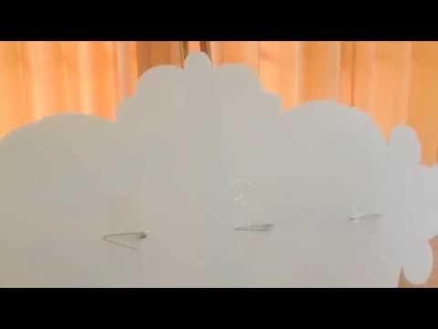 www.thelovemode.com   / ติดป้ายชื่อแต่งงาน บนฉากผ้าม่านอย่างไร? (วัสดุ PP Board)