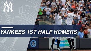 2018 Yanks set MLB first-half record for HRs with 161