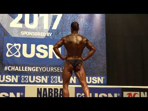 Martin Poole – Competitor No 10 - First Timers - USN NABBA Britain Final 2017