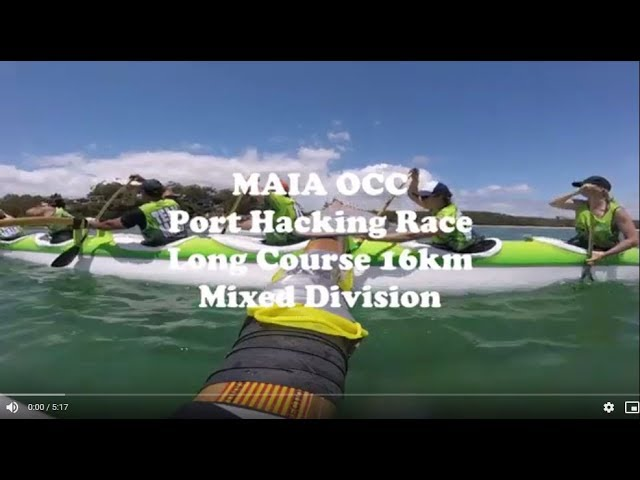 MAIA OCC - 2018 Port Hacking Long Course 16km