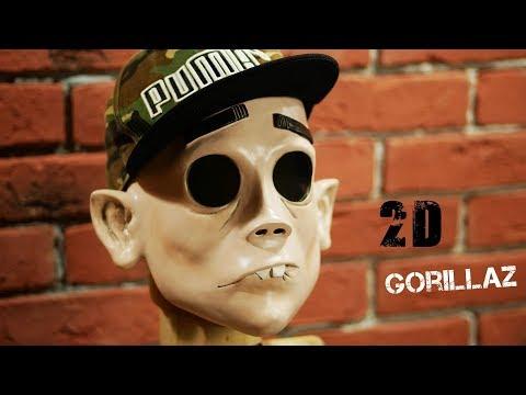 Как сделать маску 2D группы GORILLAZ \ ФАН-АРТ