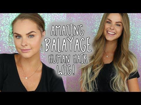 Amazing Balayage Human Hair Wig!!