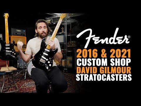 2016 & 2021 Fender Custom Shop David Gilmour Stratocasters | CME Gear Demo | Nathaniel Murphy