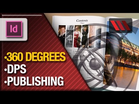 Adobe InDesign Digital Publishing Suite - 360 Degree Image Sequence (Tutorial by VOXLAB)