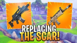 *NEW* Leaked G36C Rifle REPLACING The SCAR! - Fortnite: Battle Royale