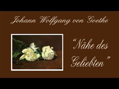 Johann Wolfgang Goethe Nähe Des Geliebten 1795