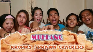 Cover images Prawn Crackers ( Kropiks ) Mukbang with my Squad!