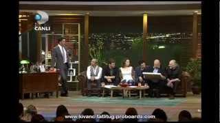 Kıvanç Tatlıtuğ & Kelebeğin Ruyası Team in Beyaz Show ( Part 7 ) - March 15, 2013