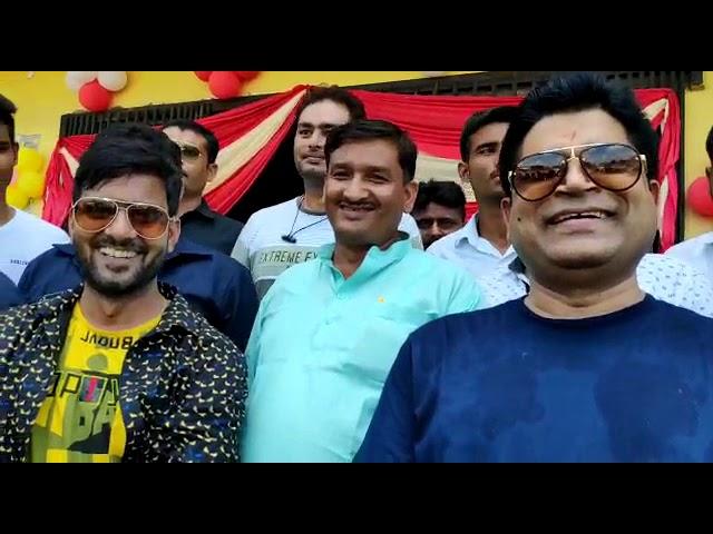 Bhojpuri Film ''GUNDA'' Press Conference With Vinod Yadav, Sikander khan, Anjan Singh, Gunjan Pant