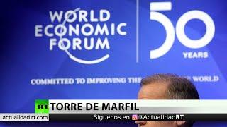 Critican la 50.ª edición número del foro de Davos por el elitismo que lo rodea