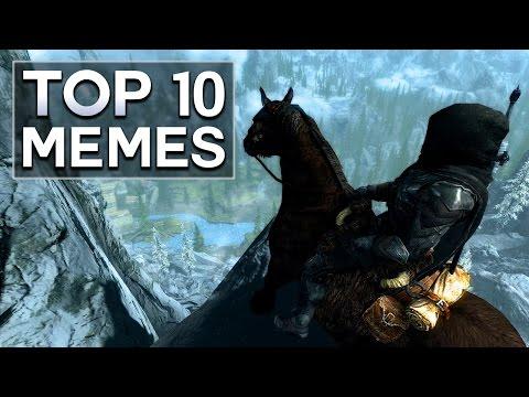 Skyrim - Top 10 Memes