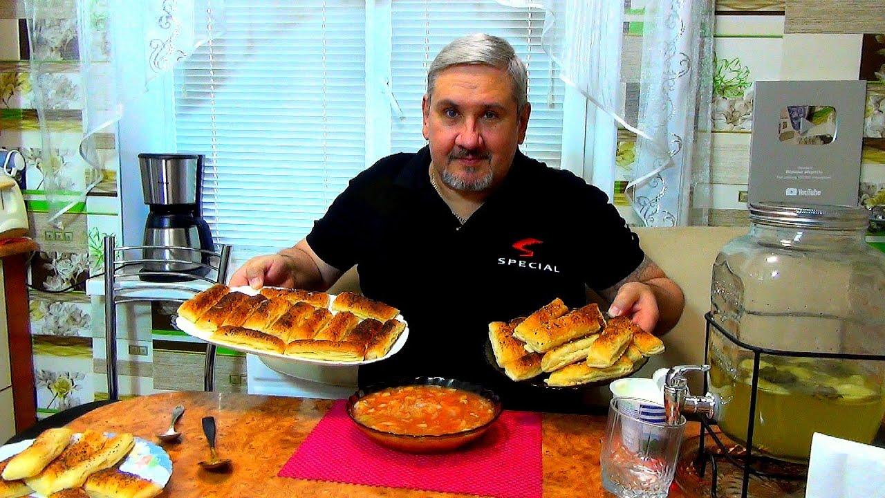 Печенье к борщу, простая альтернатива пампушкам.  Полезная еда. Мужик на кухне - кулинария для всех