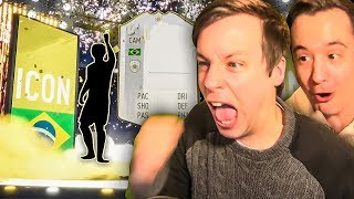 I PACKED A HUGE ICON IN FUT BIRTHDAY!!! FIFA 19 ULTIMATE TEAM PACK OPENING