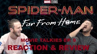 SPIDERMAN FAR FROM HOME TRAILER REACTION & REVIEW!