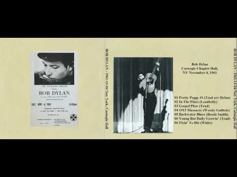 BOB DYLAN live in New York City, NY, 04.11.1961