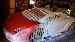 видео Стеклопластиковый кузов автомобиля