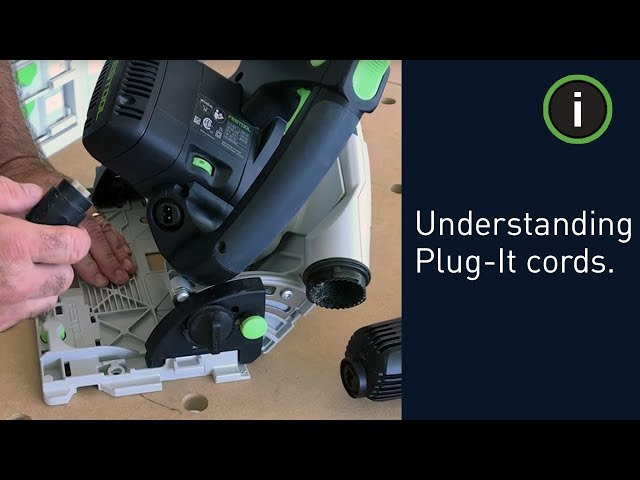 Festool Training: Understanding Plug-It cords