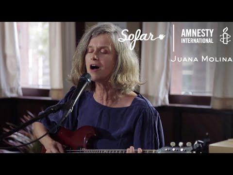 Juana Molina - COSOCO | Sofar NYC - GIVE A HOME 2017