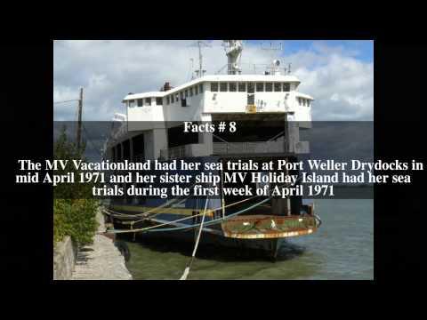 MV Vacationland Top # 16 Facts