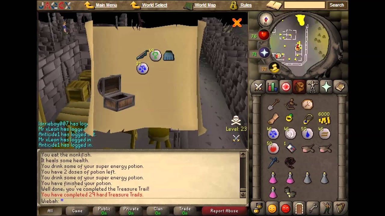 OSRS 50 Hard Clue Rewards