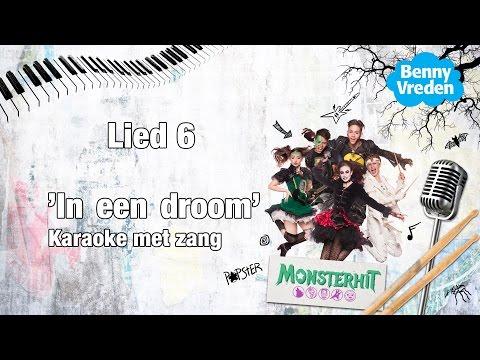 Lied 6 (karaoke zang)  In een droom - van de musical Monsterhit