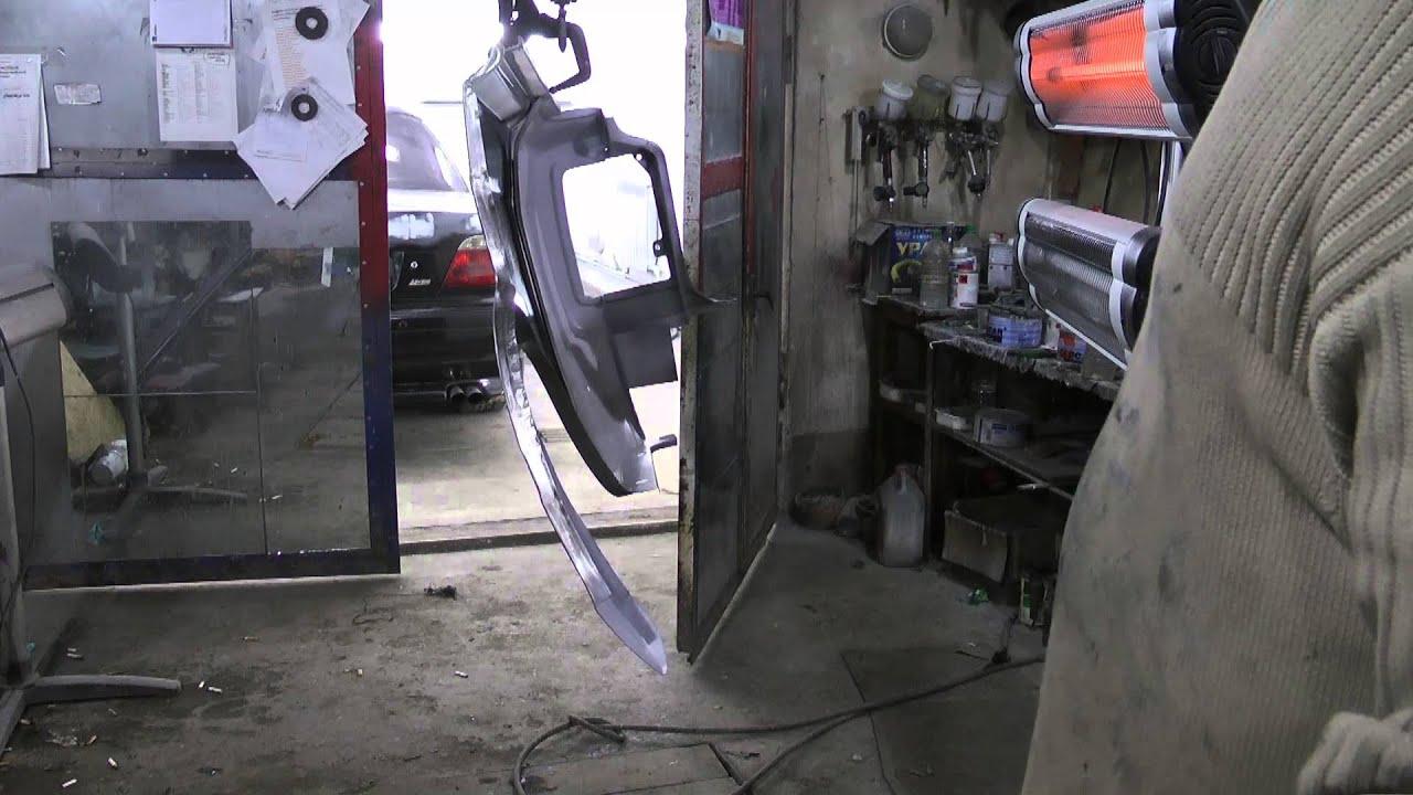 Сушка ЛКП автомобиля бытовым ИК нагревателем