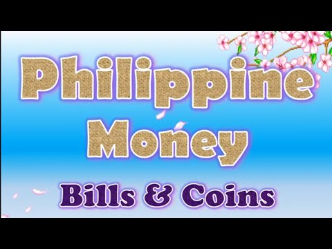 Philippine Money Bills And Coins (old And New Version)
