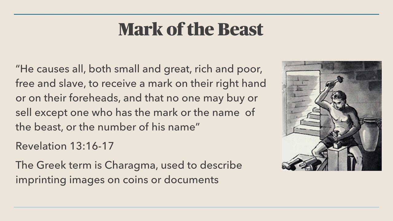 Mark of The Beast explained through Roman Coinage