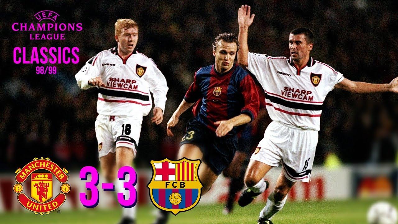 d69ff28a Manchester United 3-3 FC Barcelona | UEFA Champions League Classic | Treble  Revisited