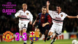 Ahead of the start this seasons champions league campaign, relive classic encounter between united and fc barcelona from 20 years ago, as goals ...