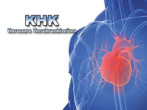 Koronare Herzkrankheiten - Krankheiten des Herzens