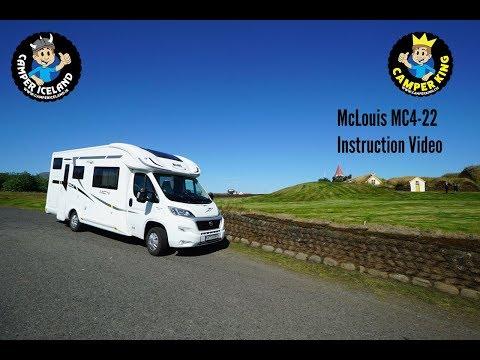 Camper Iceland Instruction Video Motor Home 6 (McLouis MC4-22)