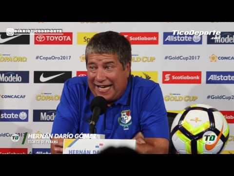 El técnico de Panamá Hernán Darío Gómez no se cansa de deshacerse en elogios para Costa Rica