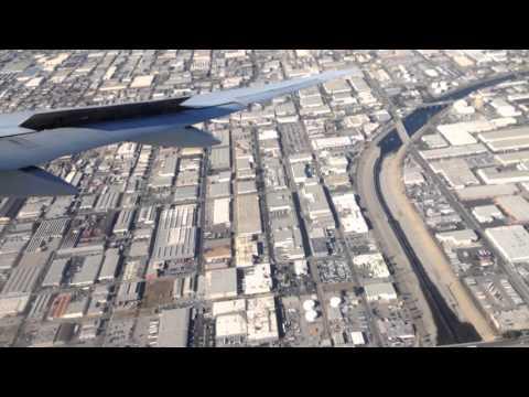 Los Angeles, California - Landing at LAX HD (2015)