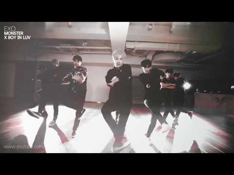[MASHUP] EXO - Monster (방탄소년단 (BTS) / 상남자 (Boy In Luv) Remix.)