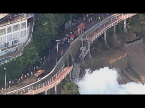 Dois anos após acidente, ciclovia ainda é motivo de impasse no Rio   SBT Brasil (21/04/18)
