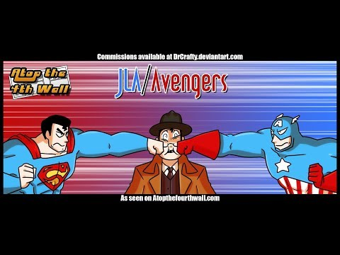 JLA/Avengers, Part 1 - Atop the Fourth Wall