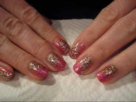 Bollywood nail art