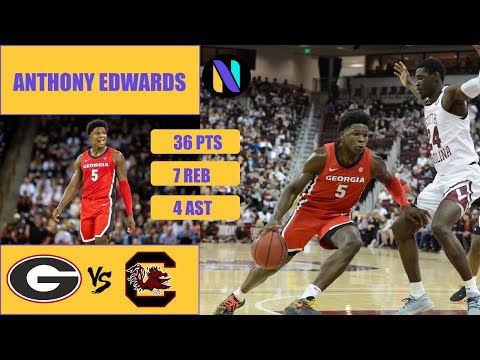 anthony-edwards-georgia-bulldogs-36-pts-7-rebs-4-ast-vs-south-carolina-gamecocks-|-next-ones