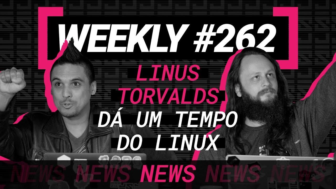 Linus Torvalds dá um tempo do Linux e o poderoso ataque CSS - Weekly #262