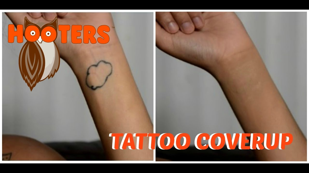 How To Cover Up Tattoos Working At Hooters Yaryzett Youtube