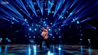 Craig and Micheline BBC Strictly Come Dancing Semi Final