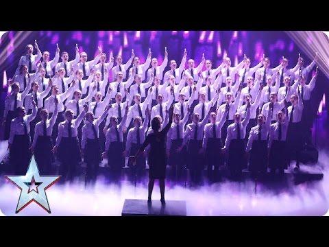 Presentation School Choir perform Ave Maria   Semi-Final 5   Britain's Got Talent 2016