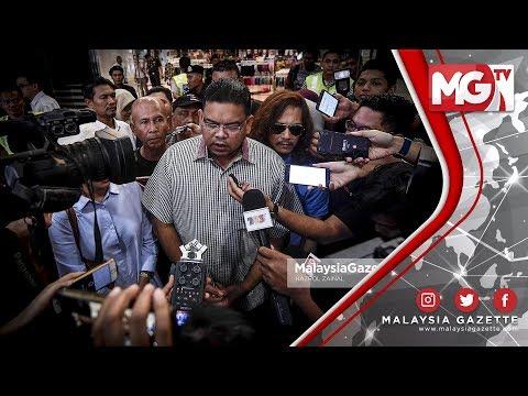 """TERKINI : """"Datuk Seri Najib, 3 Jam Beri Keterangan"""" - Lokman Adam"""